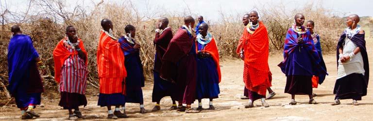 Massai Safari Tansania Planung