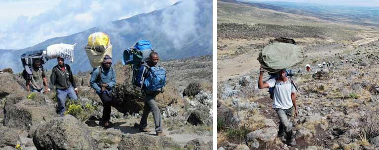 Porter Mount Kilimanjaro