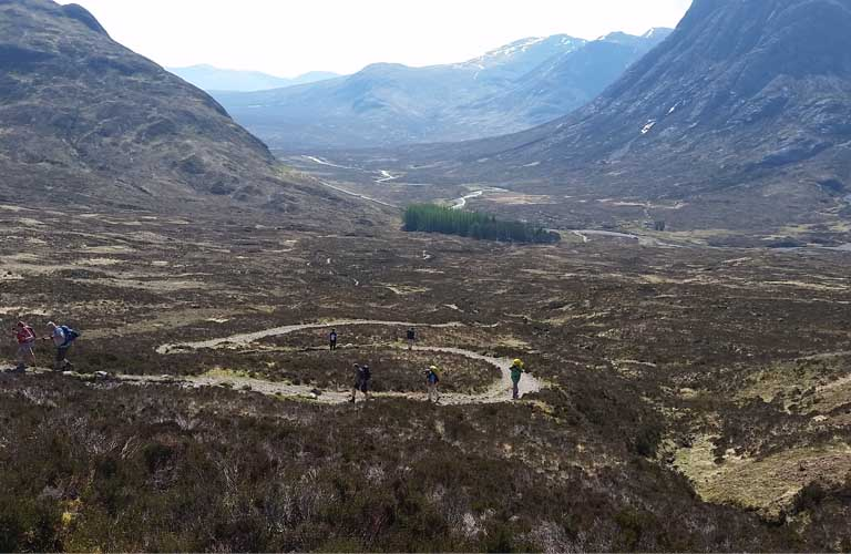 Devils Staircase West Highland Way