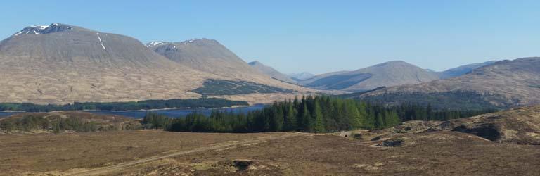 West Highland Way Rannoch Moor