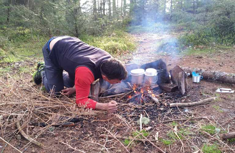 West Highland Way Schottland Wildcamping
