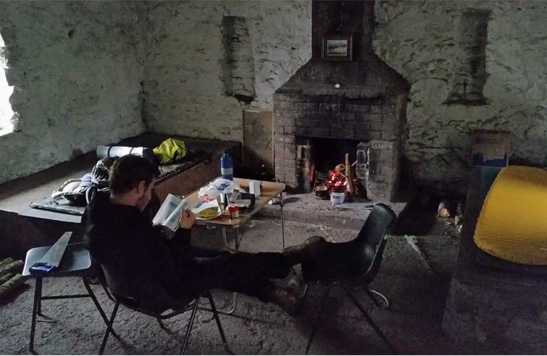 West Highland Way Schutzhütte Tag 3