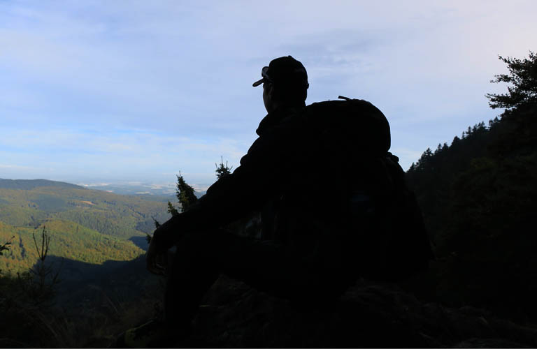 Wandern in Deutschland Rennsteig-hoehenwanderweg-im-thueringer-wald