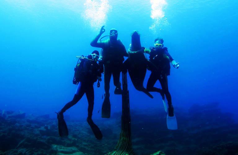 Bodrum Tauchen Black Island Türkei