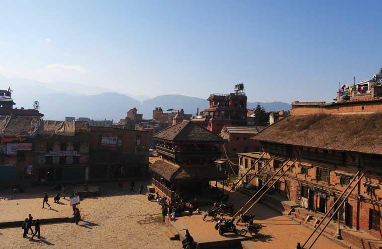 Erdbeben Nepal Bhaktapur