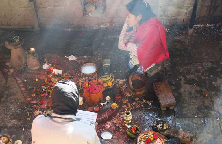 hindu temple bhaktapur nepal