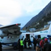 Three passes Trek Lukla Airport