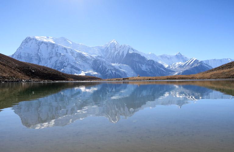 Trekking Nepal Ice Lake Annapurna Runde Bergwandern