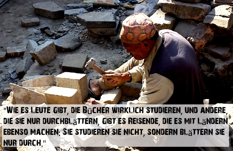 Bhaktapur Nepal Erdbeben Zitate Reisen Reiseblog Himalaja