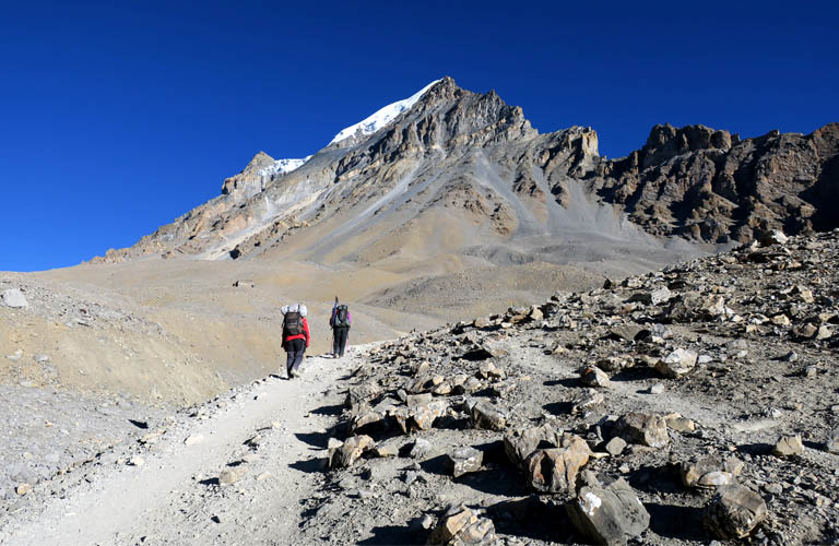 Annapurna Circuit Trek Nepal Thorung La pass Around annapurna
