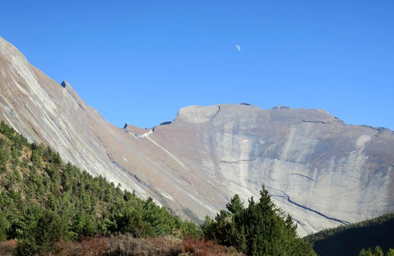 Bergwandern Annapurna Circuit Trek Nepal Upper Pissang