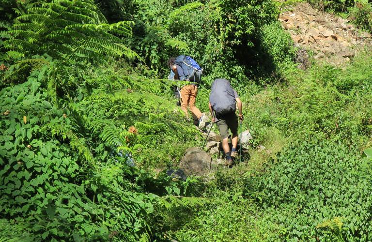 Jagat Map Annapurna Circuit Annapurnarunde Karte Stefan Schüler Nepal