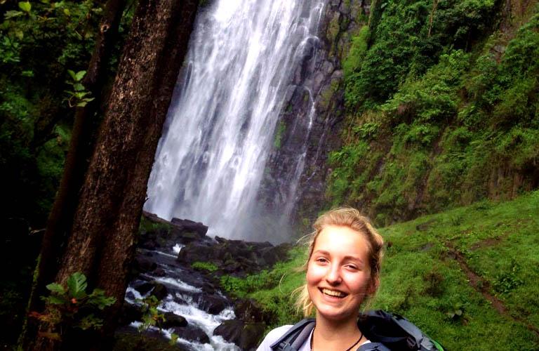 Trekking Materuni Wasserfälle