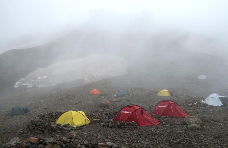 Kasbek Zelten Mount Kazbek Packliste Georgien