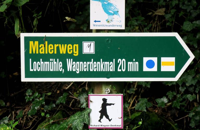Liebethaler Grund Malerweg Zelten Sächsische Schweiz Trekking Deutschland