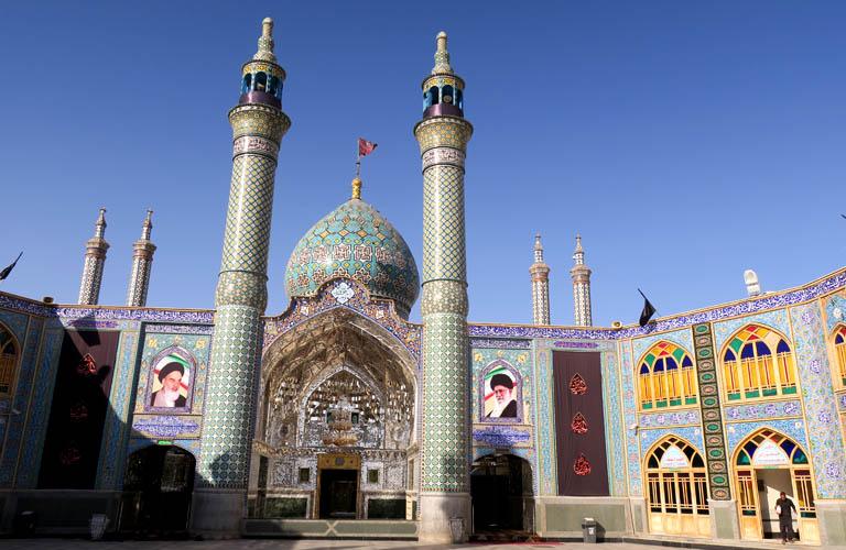 Visa on arrival Iran Flughafenvisum Iran Moschee