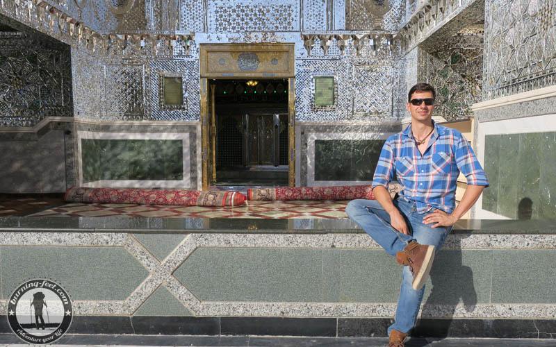 Shrine of Hilal Ibn Ali Thomb Maranjab Desert Iran Kashan Isfahan Desert Tour