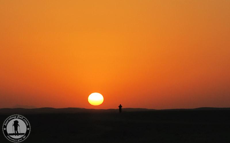 Sonnenaufgang Maranjab Desert Sunrise Iran Kashan Isfahan Desert Tour