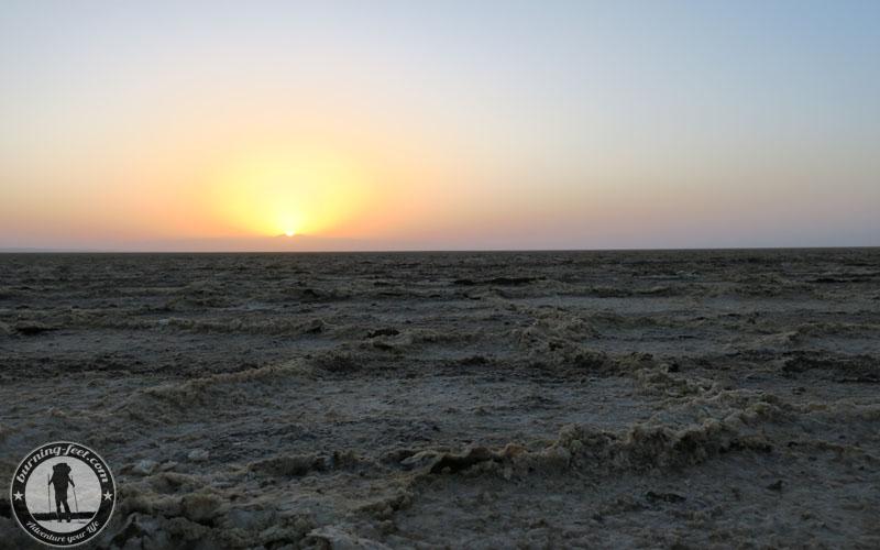 Sunset Maranjab Desert Sonnenuntergang Iran Kashan Isfahan Desert Tour