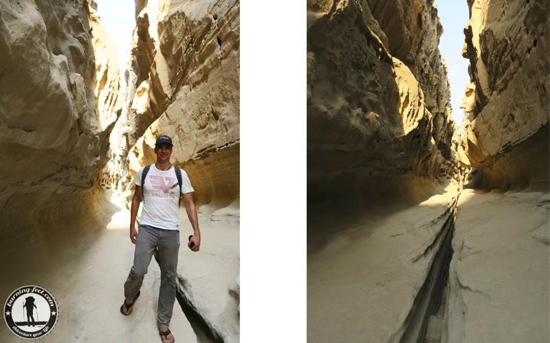 Backpacking Queshm Island Chahkooh Iran Geopark Qeschm Sehenswürdigkeit