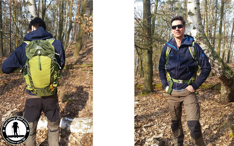 daypack gregory zulu 30 test tagesrucksack rucksack daypack wandern bergsteigen