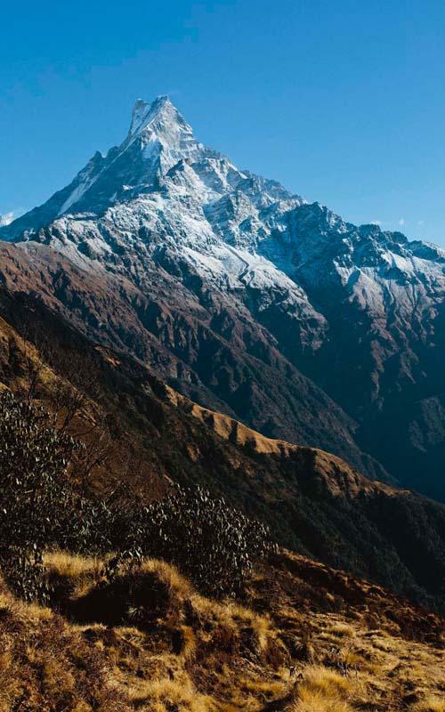 Machapuchare Nepal Mardi Himal Trek Nepal Trekking Annapurna Base Camp Trek