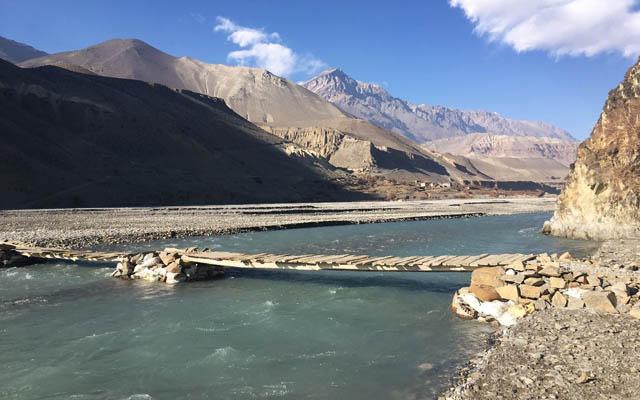 Kali Gandhaki Tal Mustang Disztrict Trekking