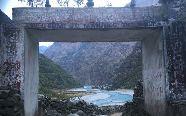Wandern Annapurna Runde Annapurnacircuit
