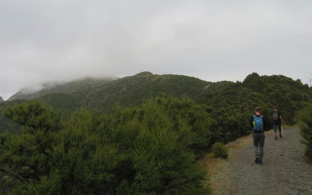 Mount Fyffe Aufstieg