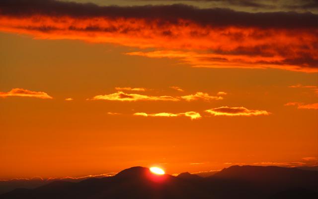 Sunset New Zealand