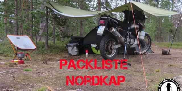 Packliste Nordkap