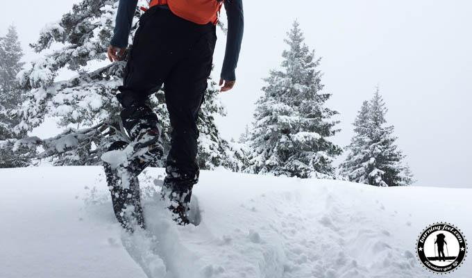 Schneeschuhwanderung Alpen