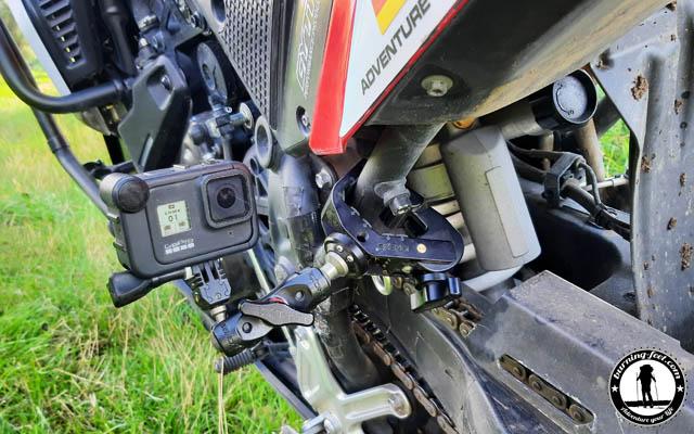 GoPro Hero 8 Halterung Motorrad
